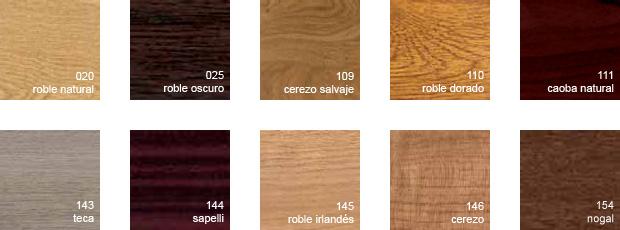 Colores de las puertas y ventanas de PVC - Incerco