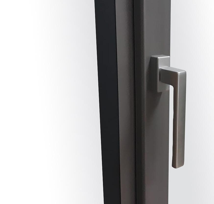 Puertas osciloparalelas incerco for Tirador puerta corredera