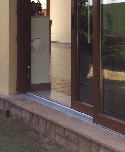 Zapata de aluminio de la puerta corredera Top Slide Lift