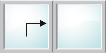 Esquema del sistema de apertura corredera elevadora